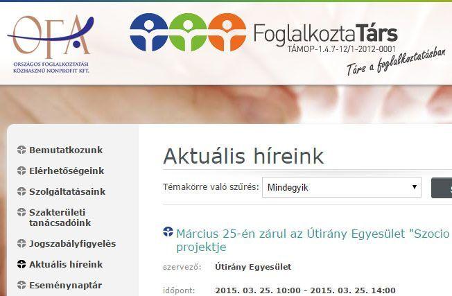 Weblap