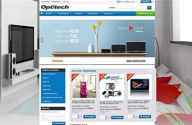 Webdesign weboldal készítés